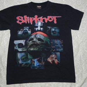 Slipknot Vintage Tshirt Graphic Rock Metal M